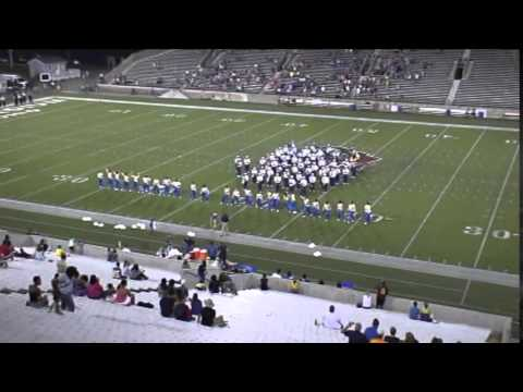 Timken High School Marching Band Game 1 Halftime