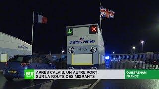 Après Calais, Ouistreham : un autre port sur la route des migrants