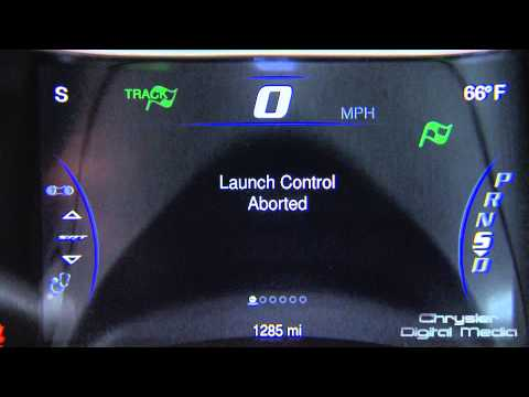 2014 Jeep Grand Cherokee SRT Launch Control