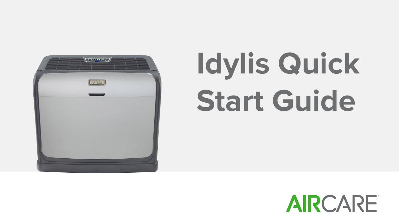 Idylis Quick Start Guide   #26A612
