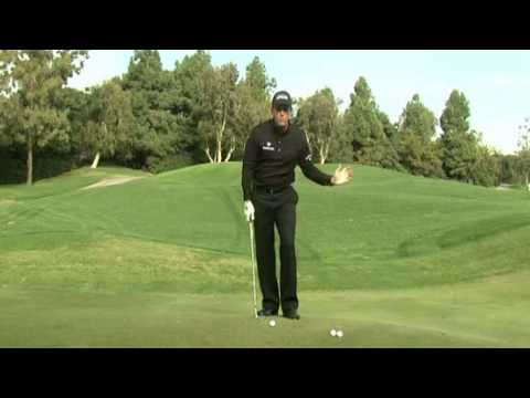 Short Game Instructions: Phil Mickelson on 50 Yard Shot