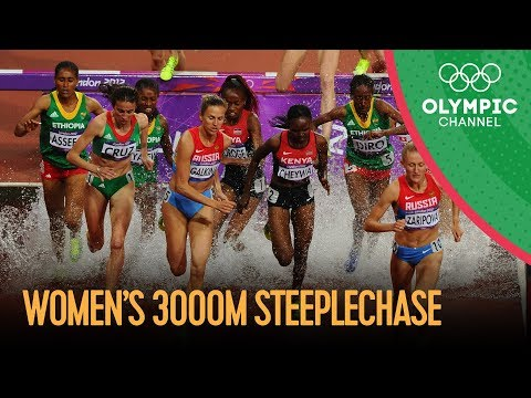 Yuliya Zaripova Wins Women's 3000m Steeplechase Gold   London 2012 Olympics