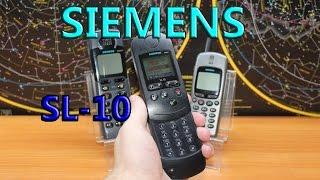 Siemens SL10  - Первый в мире сотовый телефон слайдер!