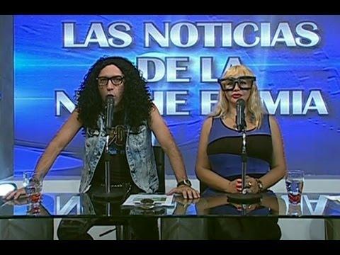 Susy Díaz acompañó a Galdos en El Noticiero de La Noche es Mía