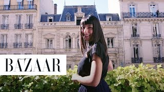 This Hair Transformation at the Balmain Salon in Paris is so Chic | BAZAAR x Paris