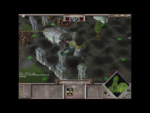 Age of Mythology The Titans Epic Textures for 3 Titans Gameplay Cerberus vs Gaia vs Egipcian Titan