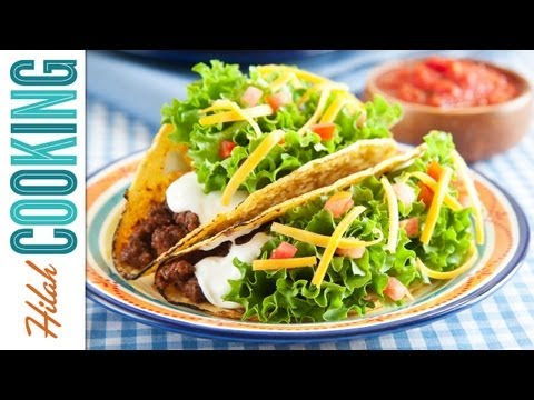 How To Make Tacos!!! - Crispy Beef Taco Recipe