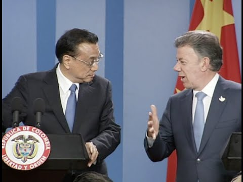 China, Colombia Vow Closer Cooperation as Li Keqiang Starts Visit