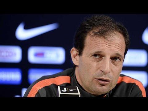 La conferenza di Allegri prima di Roma-Juventus - Allegri's pre-match Roma conference