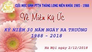 Hội Khóa Thăng Long 1985 - 1988