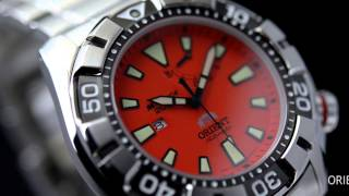 Orient Watch M-Force 2011 SEL03001B SEL03002M SEL03001D Sport Diver Watch