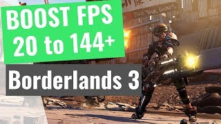 Borderlands 3 - How to BOOST FPS and Increase Performance / STOP Stuttering on any PC