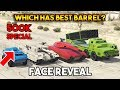 GTA 5 ONLINE : WHICH HAS BEST BARREL/CANNON? [FACE REVEAL 500K SPECIAL]