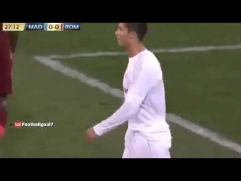 Ronaldo Abuses Gareth Bale Speed during Real Madrid vs AS Roma Friendly 2015