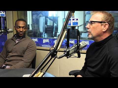 Kevin Costner & Anthony Mackie Talk