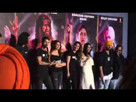 Udta Punjab trailer launch