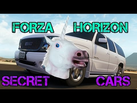 Forza Horizon - SECRET TRAFFIC CARS Mod & Unicorns!