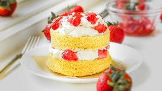 KETO Strawberry Shortcake From Scratch IN 5 MINUTES | Easy Low Carb Keto Dessert Recipes