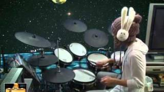 SIAM SHADE / MOON  (drum cover)