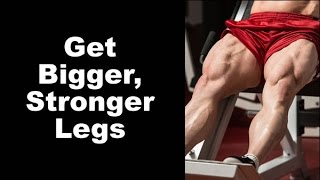 Get Bigger, Stronger Legs With Zottman Squats - Front Squat Negatives to Bottom Start Squats