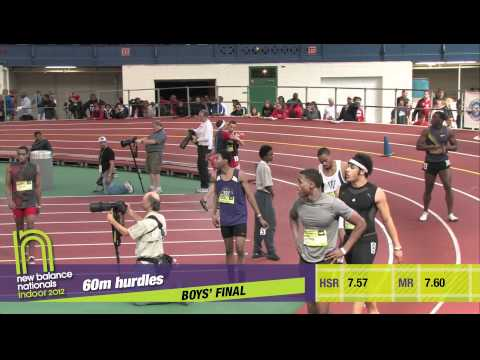 B 60H F01 (Donovan Robertson 7.70, Indoor Nationals 2012)