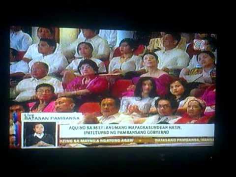 SONA ni PNoy sa bansa moro 2013