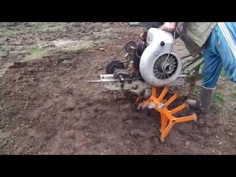 Как сделать гусиные лапки на мотоблок 950