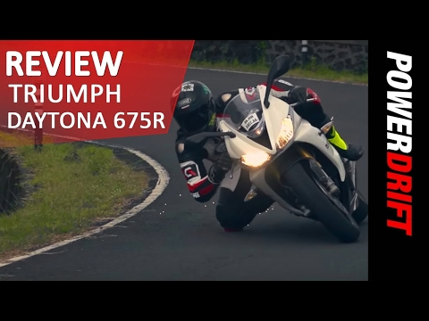 Triumph Daytona 675R : Review : PowerDrift