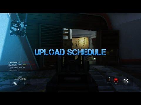 Upload Schedule!