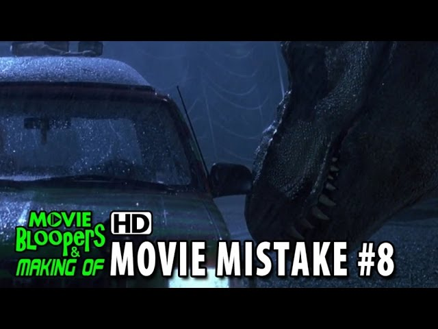 Jurassic Park (1993) movie mistake #8
