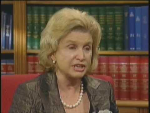 Political News and Views with Rep  Carolyn Maloney Part 1