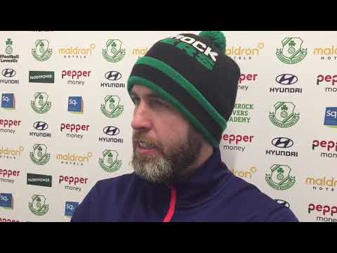 Stephen Bradley pre match v Sligo 30-03-2018