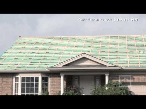 Metal Roofing Installation - London Eco-Metal Manufacturing Inc.