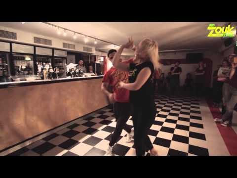 Freddy + Noora - 4th Helsinki Zouk Festival 2015 - Zouk Demo
