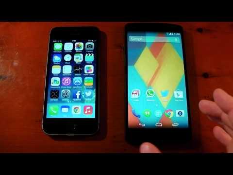 Google Nexus 5 vs. Apple iPhone 5S - Performance