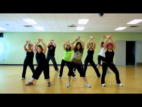 Rabiosa~ Shakira feat. Pitbul   GRDanceFitness Music Videos