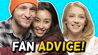 GIVING FANS ADVICE! (The Show w/ No Name)