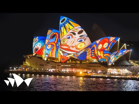 Sydney Opera House: Lighting The Sails - The Spinifex Group - Vivid LIVE 2013