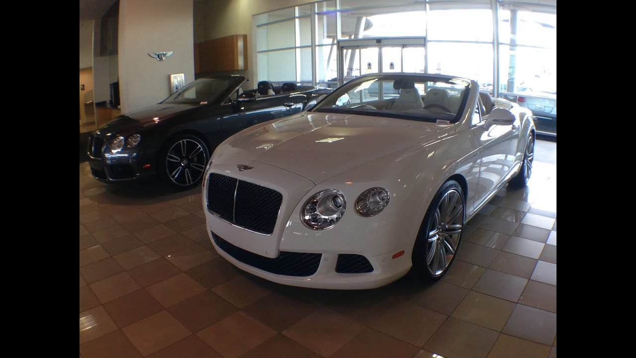 New 2014 Bentley Continental Gt Speed Convertible For