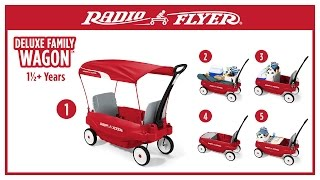 Radio Flyer Deluxe Family Wagon™