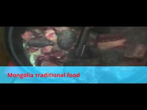 Mongolia traditional food
