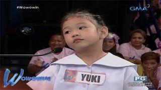Wowowin: Makuilit mang bata, pinagpala naman ng talino at pagkabibo