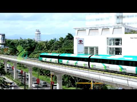 See How kochi Metro Rail Runs Through Kochi: animation video
