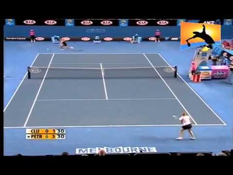 [HL] Nadia Petrova v. Kim Clijsters 2010 Australian Open [R3]