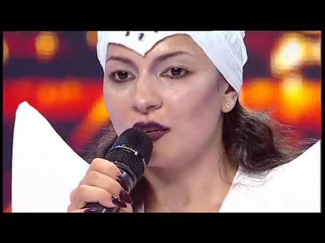 """Lady Gaga - """"Bad romance"""". Vezi aici cum cântă Loredana Ionescu la X Factor"""