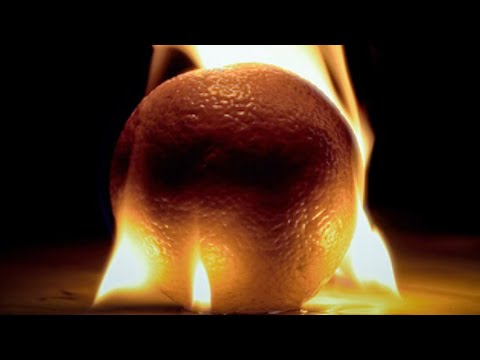 How to make fire using only a Orange Music Videos
