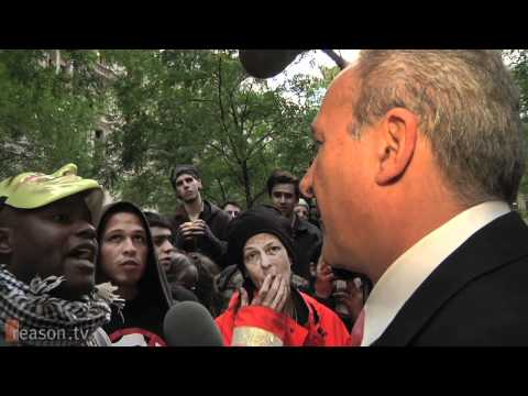 "Peter Schiff at OWS: ""Walmart Doesn't Hold a Gun to Your Head!"""