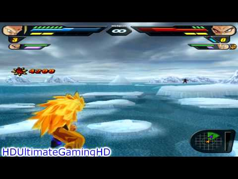DragonBall Z Budokai Tenkaichi 2 Gameplay[1 VS 5][HD]