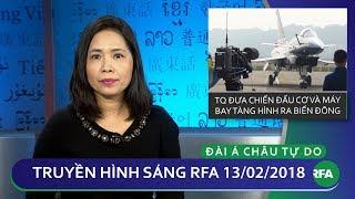 Tin tức thời sự | Trung Quốc đưa chiến đấu cơ và máy bay tàng hình ra Biển Đông