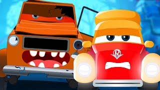 Happy Halloween | Supercar Royce Cartoons For Kids
